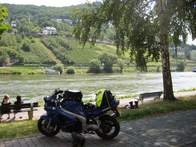 By the beautiful Mosel